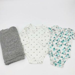 Lot of 3 Nordstrom Aden & Anais Baby Unisex